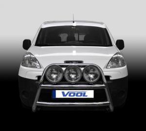 STOR TRIO frontbåge - Peugeot Partner 2008-