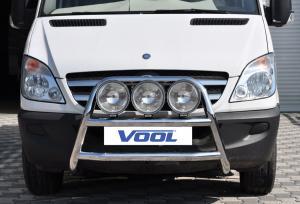 STOR TRIO frontbåge - VW Crafter 2011-