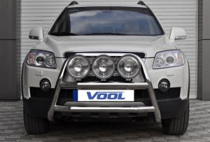 STOR TRIO frontbåge - Chevrolet Captiva 2006-2010