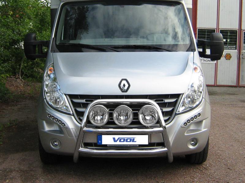 STOR TRIO frontbåge - Renault Master 2011-2014