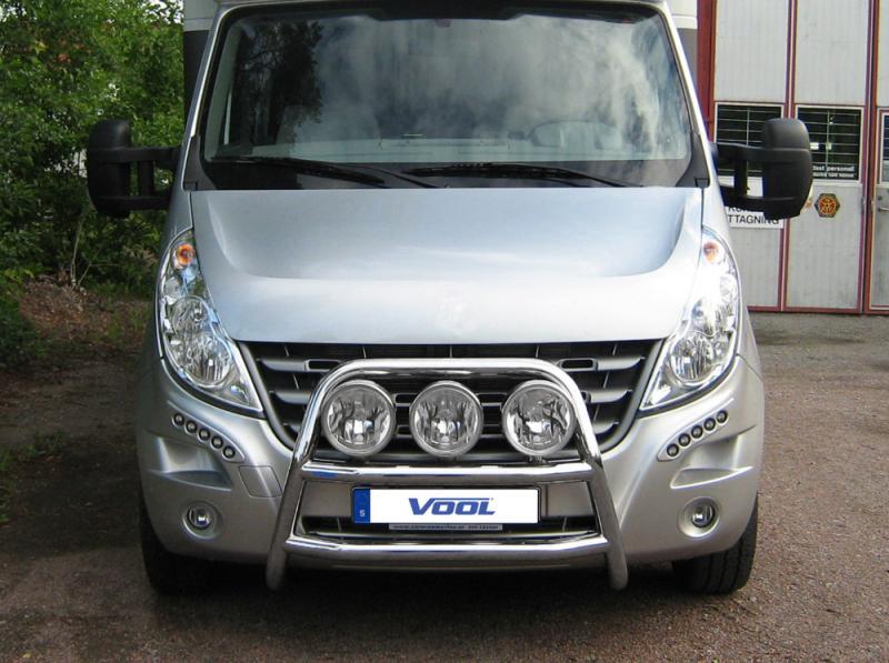 STOR TRIO frontbåge - Opel Movano 2011-