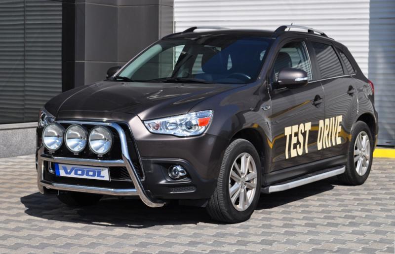 STOR TRIO frontbåge - Mitsubishi ASX 2010-2012