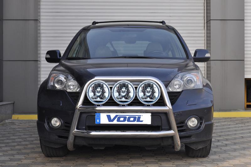 STOR TRIO frontbåge - Honda CR-V 2007-2012