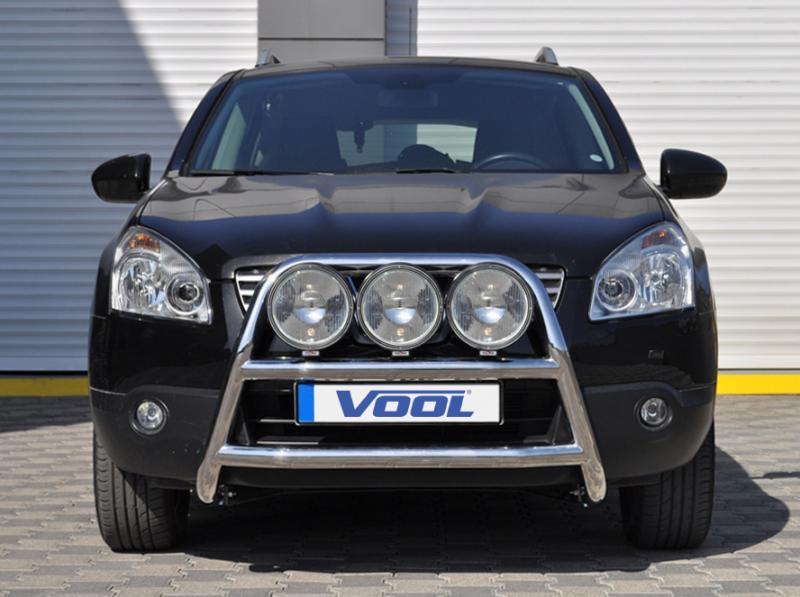 STOR TRIO frontbåge - Nissan Qashqai 2010-2013