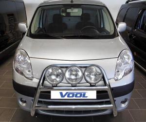 STOR TRIO frontbåge - Renault Kangoo 2008-2013