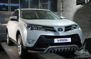 LOWBAR EU frontbåge med hasplåt - Toyota Rav4 2013-