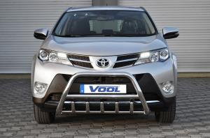 MINDRE frontbåge med trågskydd - Toyota Rav4 2013-