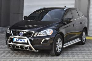 MINDRE frontbåge med trågskydd - Volvo XC60 2009-2012