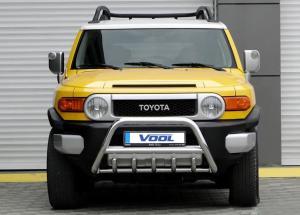 MINDRE frontbåge med trågskydd - Toyota FJ Cruiser 2007-