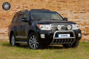EU Frontbåge med trågskydd - Toyota Land Cruiser 200 / V8 2012-