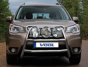 STOR TRIO frontbåge - Subaru Forester 2013-