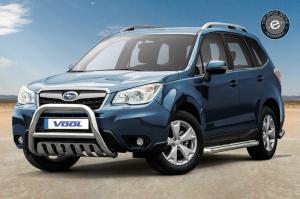 EU Frontbåge med hasplåt - Subaru Forester 2013-