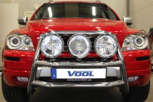 STOR TRIO frontbåge - Volvo XC90 2009-2014