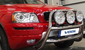 STOR TRIO frontbåge - Volvo XC90 2003-2008