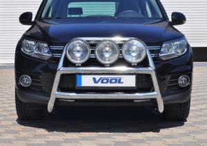STOR TRIO frontbåge - VW Tiguan 2008-