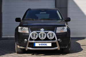STOR TRIO frontbåge - Suzuki Grand Vitara 2006-2012