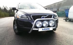 Voolbar Alu Frontbåge - Volvo XC60 2009-2012