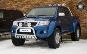 EU Frontbåge med hasplåt - Toyota Hilux 2010-2015