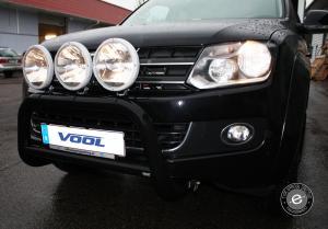 EU Frontbåge [Svart] - VW Amarok 2011-