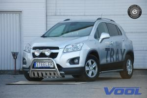 EU Frontbåge med hasplåt - Chevrolet Trax 2013-
