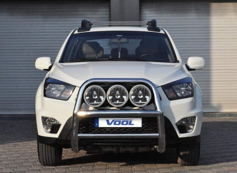 STOR 76MM frontbåge - Ssang Yong Actyon Sport 2012-