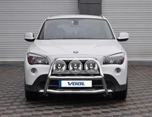 STOR TRIO frontbåge - BMW X1 2010-