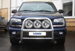 STOR 76MM frontbåge - Chevrolet TrailBlazer 2002-2009