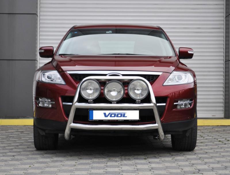STOR TRIO frontbåge - Mazda CX-9 2009-2013