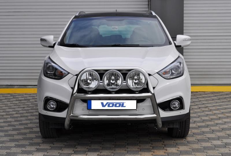 STOR TRIO frontbåge - Hyundai ix35 2010-2015