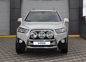STOR TRIO frontbåge - Chevrolet Captiva 2011-