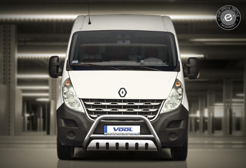 EU Frontbåge med hasplåt - Renault Master 2011-2014