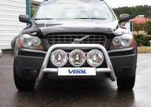 Voolbar Alu Frontbåge - Volvo XC90 2003-2008