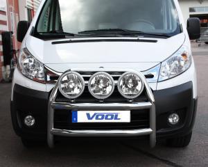 STOR TRIO frontbåge - Peugeot Expert 2007-
