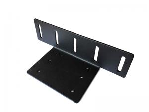 Mindre fäste för LED ramp - Alu, svart