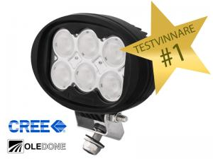 Oledone WD-6L60 60W LED Arbetslampa