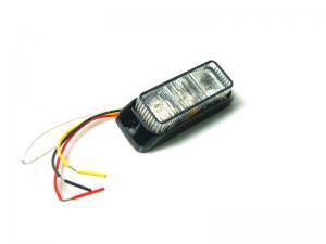 Blixtljus LED Orange ECE-R65 SAE