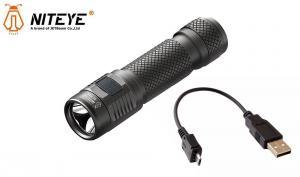 Niteye EC-R26 LED ficklampa inkl 2600 mAh batteri