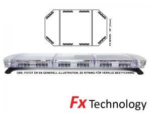 Mega-Flash FX1 55cm LED Blixtljusramp