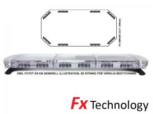 Mega-Flash FX1 60cm LED Blixtljusramp