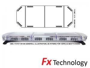 Mega-Flash FX1 80cm LED Blixtljusramp
