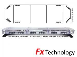 Mega-Flash FX1 109cm LED Blixtljusramp