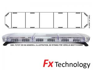 Mega-Flash FX1 168cm LED Blixtljusramp
