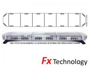 Mega-Flash FX1 197cm LED Blixtljusramp