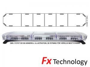Mega-Flash FX1 208cm LED Blixtljusramp