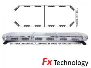 Mega-Flash FX2 90cm LED Blixtljusramp