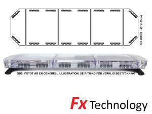 Mega-Flash FX2 109cm LED Blixtljusramp