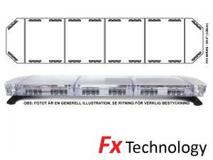 Mega-Flash FX2 138cm LED Blixtljusramp