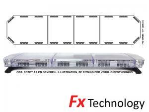 Mega-Flash FX2 150cm LED Blixtljusramp