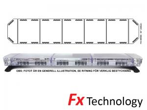 Mega-Flash FX2 168cm LED Blixtljusramp
