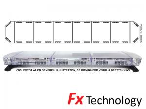 Mega-Flash FX2 197cm LED Blixtljusramp